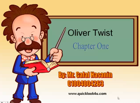 Oliver Twist Chapter 1