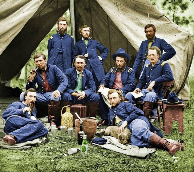 NDczMzI5MQ7979historical-photos-rare-pt2-lt-custer-troops-1862